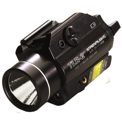 TLR-2s® LED Rail Mounted Flashlight with Strobe, (2) CR123A