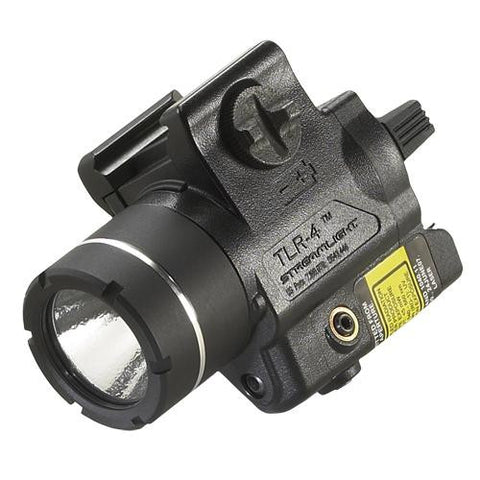 TLR-4® Compact Rail Mounted Tactical Light With Laser, (1) CR2