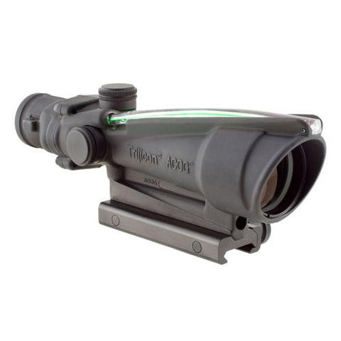 ACOG 3.5x35, Dual Illuminated Green Chevron .308 Ballistic Reticle w- TA51 Mount
