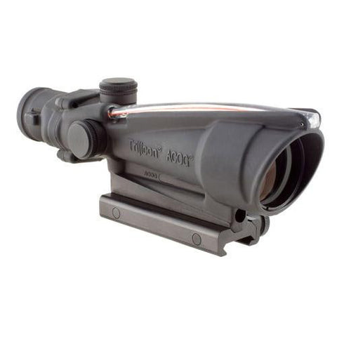 ACOG 3.5x35, Dual Illuminated Red Chevron .308 Ballistic Reticle w- TA51 Mount
