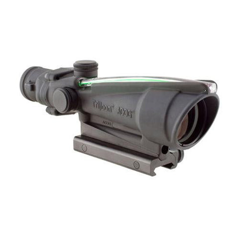 ACOG 3.5x35, Dual Illuminated Green Chevron .223 Ballistic Reticle w- TA51 Mount