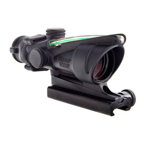 ACOG 4x32, Dual Illuminated Green Chevron .223 Ballistic Reticle w- TA51 Mount