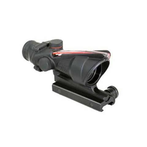 ACOG 4X32 Red Chevron BAC Flattop Reticle w- Flat Top Adapter