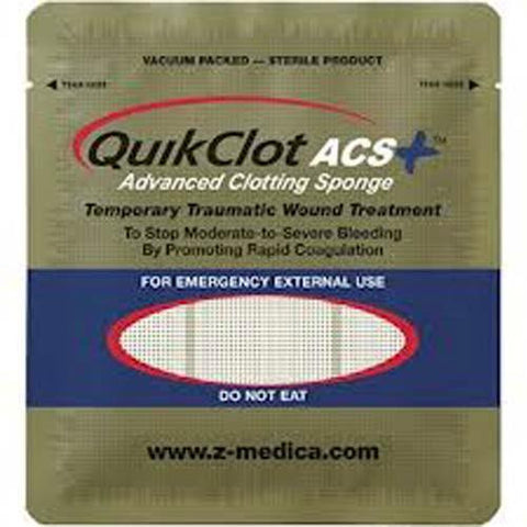 Quick Clot ACS (1 unit = 100 gram sponge)