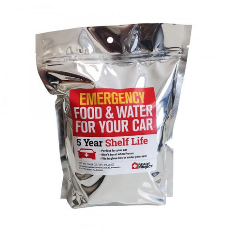 Ready Project Emergency Kit - Food & Water For Your Car Boat Truck RV
