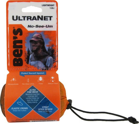 Ben's Ultranet Head Net Mosquito Pest Face Netting Cover
