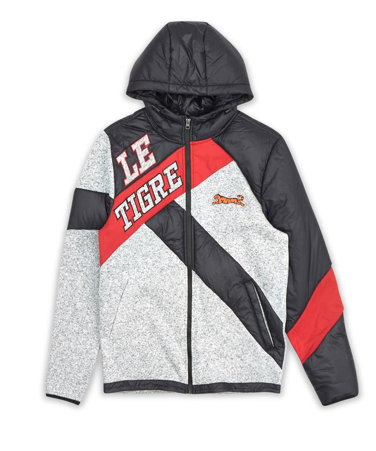 Le Tigre Merritt Track Jacket (Grey/Red/Black)