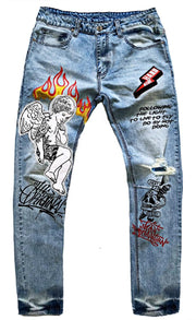 Rage Of Rebellion Angel Denim