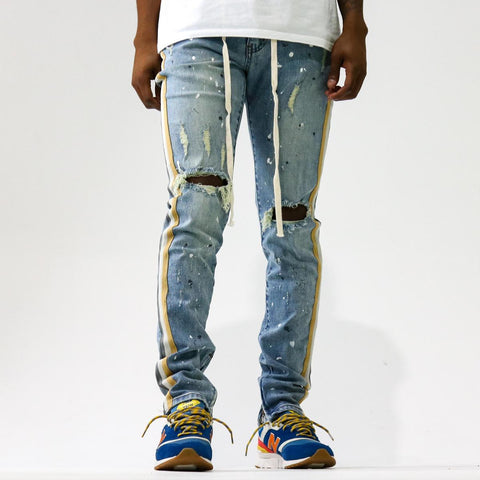 THRT Nash Striped Denim