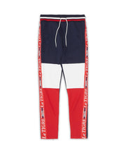 Le Tigre Tri Color Track Pants (Navy/Red/White)