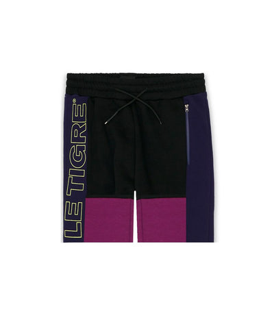 Le Tigre Lincoln Shorts (Black/Purple)