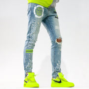 THRT Hazard Denim (Volt)