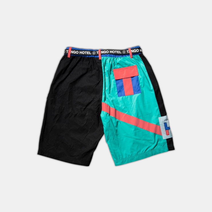 Tango Hotel Multi Abstract Shorts