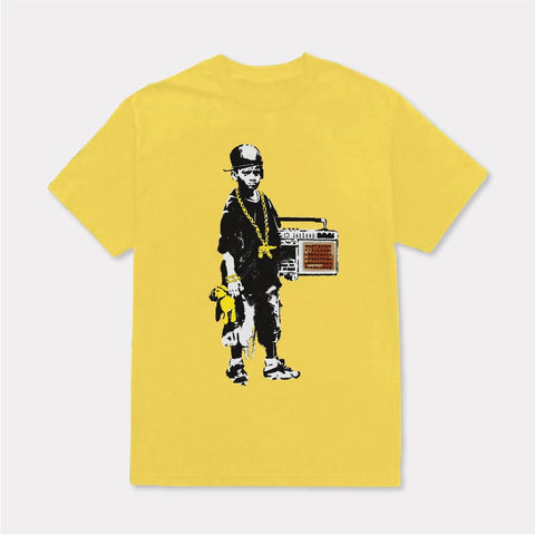 Tango Hotel Boy With The Teddy T-shirt (Yellow)