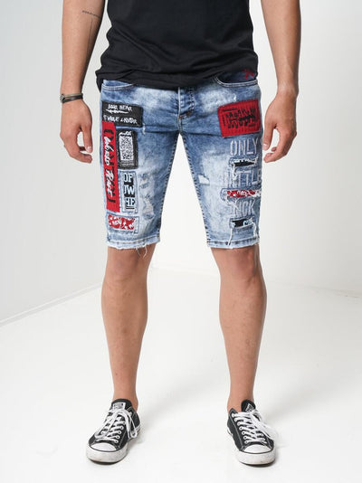 Sernes Battle Shorts (Blue)