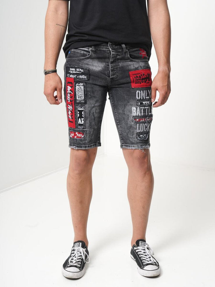 Sernes Battle Shorts (Black Ash)
