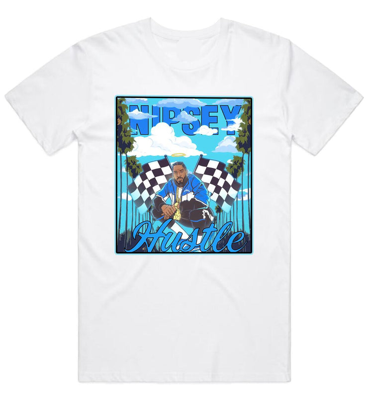 Legendary Nipsey Clouds Tee