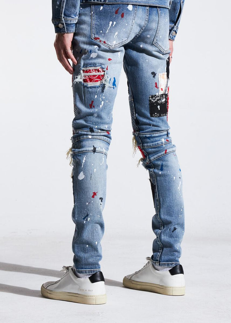 Embellish Rebel Biker Denim