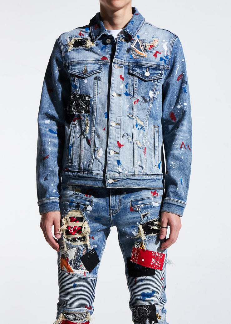 Embellish Rebel Denim Jacket