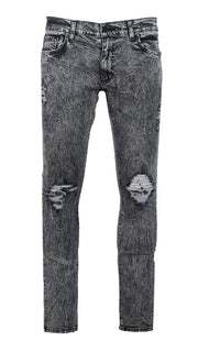 Syndicate Tailored Grey Ash Denim