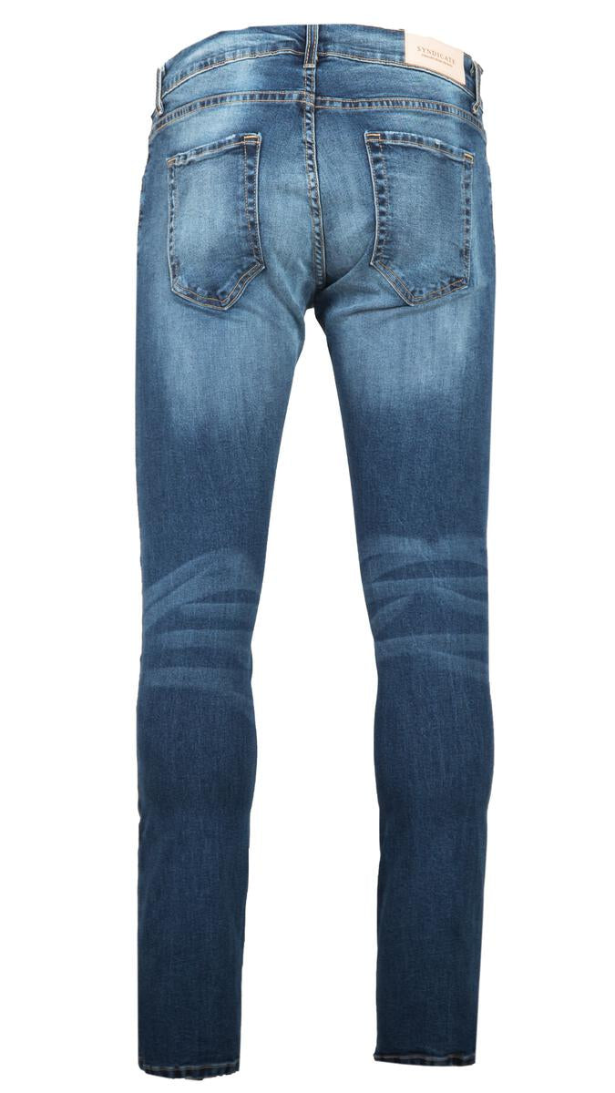 Syndicate Tailored Light Blue Wash Denim
