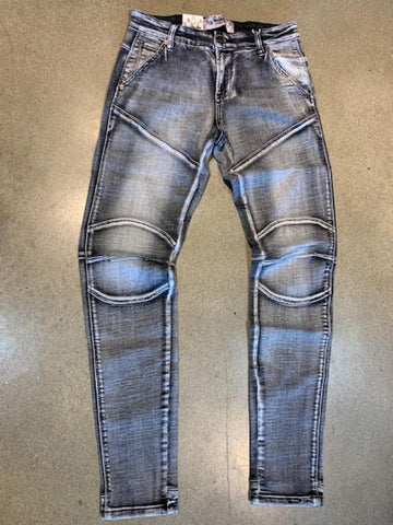 Denim City Ash Grey Star Boy Denim