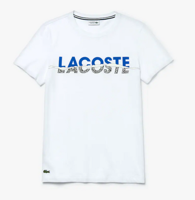 Lacoste Men's SPORT Crew Neck Graphic T-shirt