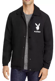 Eleven Paris Playboy Outerwear Rain Jacket (Black)