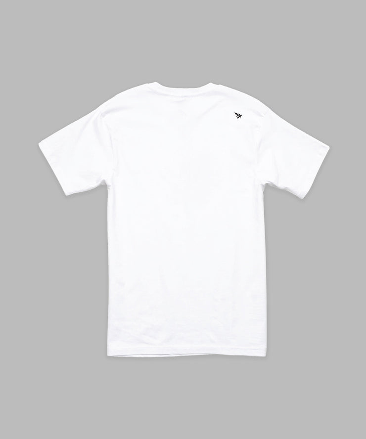 Paper Planes All Points Tee White