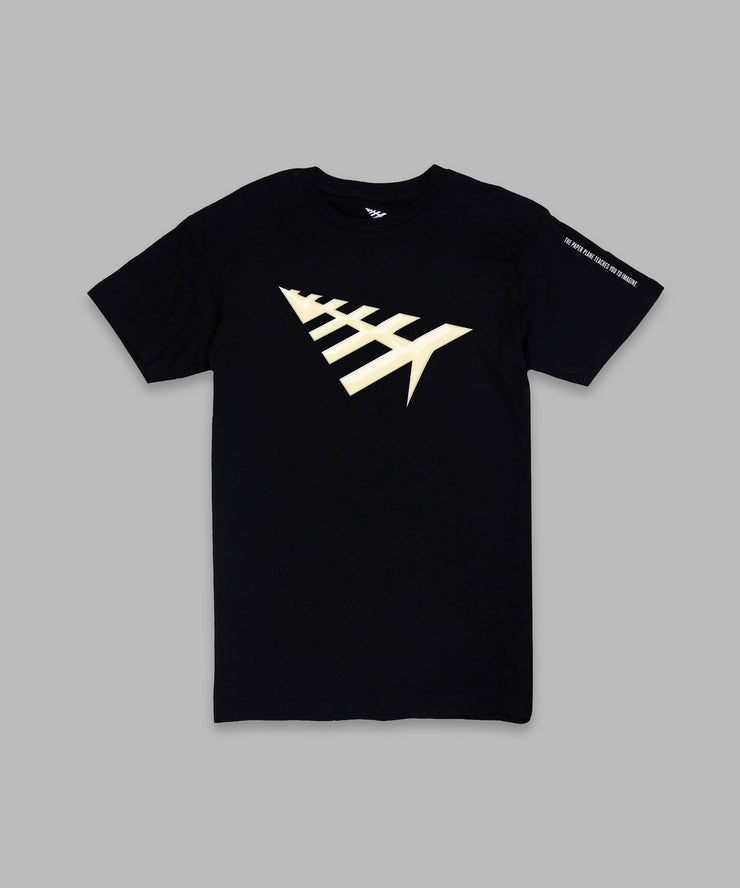 Paper Planes All Points Tee Black