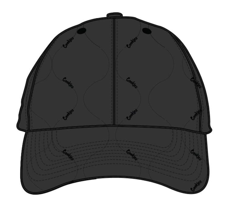 Cookies Sonoma Matte Finish Quilted Texture Nylon Dad Hat W1