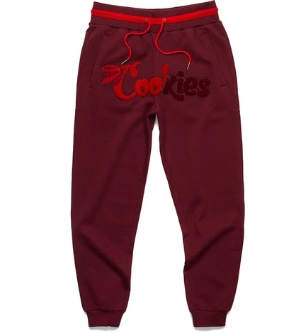 Cookies Top Of The Key Fleece Sweatpants (Red)