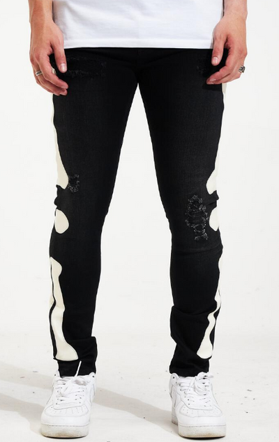 Crysp Kurt Black Denim