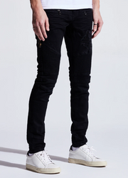 Embellish Bower Biker Denim