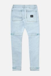 8 & 9 Clothing Strapped Up Utility Pants Baby Blue