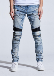Embellish Sunny Biker Distressed (Light Wash Blue)