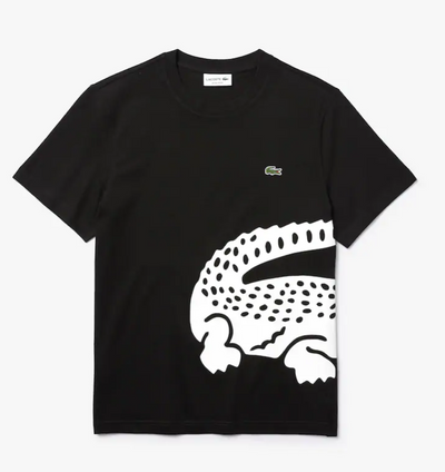 Lacoste Men's Big Croc Tee (Black)