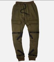 8 & 9 Strapped Up Sweatpants (Olive)