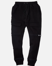 8 & 9 Strapped Up Sweatpants (Black/White)