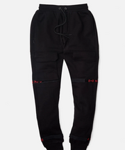 8 & 9 Strapped Up Sweatpants (Bred)
