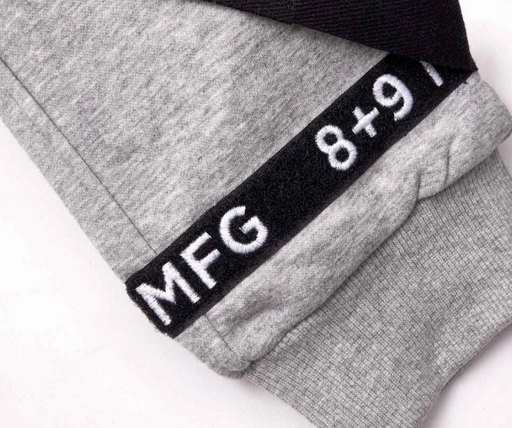 8 & 9 Strapped Up Sweatpants (Heather Grey)