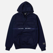 8 & 9 Strapped Up Hoodie Navy