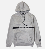 8 & 9 Strapped Up Hoodie (Heather Grey)