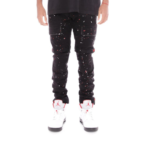 8 & 9 Clothing Strapped Up Utility Pants Bred Splatter