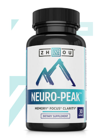 Zhou Nutrition Neuro-Peak Nootropic Biohacking Supplement