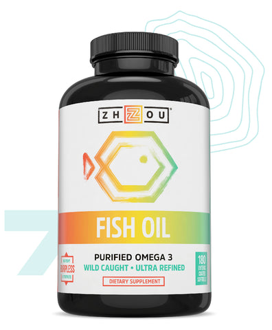 Zhou Nutrition Fish Oil Seasonal Affective Disorder Supplement