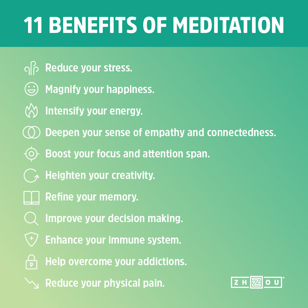 11 Benefits of Meditation Zhou Nutrition