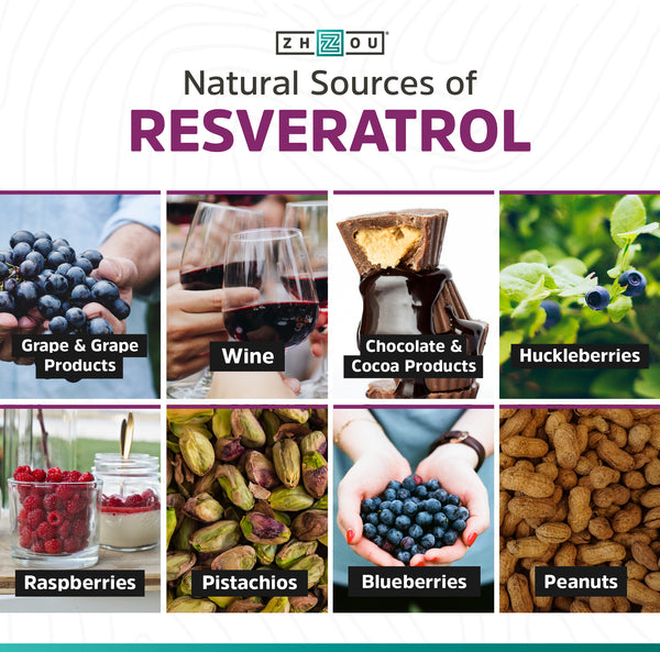 Resveratrol Because Life S Too Short To Rest Zhou Nutrition