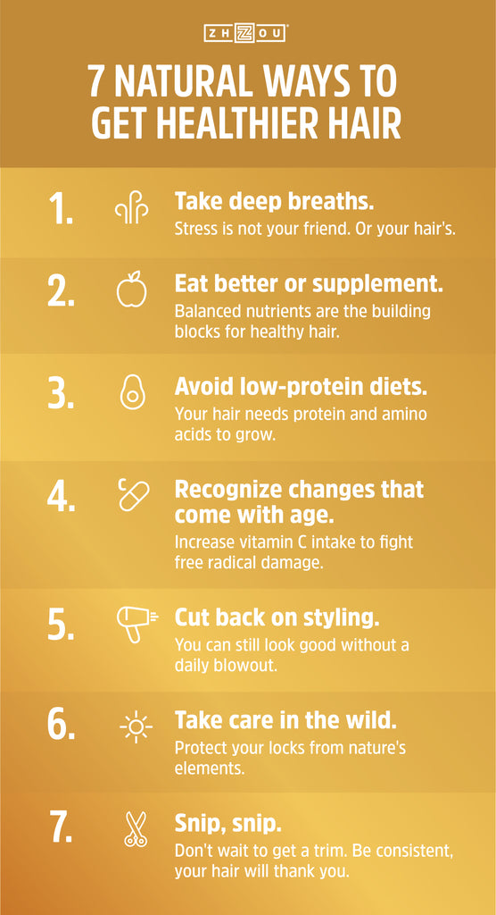 Zhou Nutrition 7 Steps to Get Healthier Hair