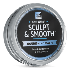 Zhou Nutrition Iron Beard Sculpt & Smooth Beard Balm